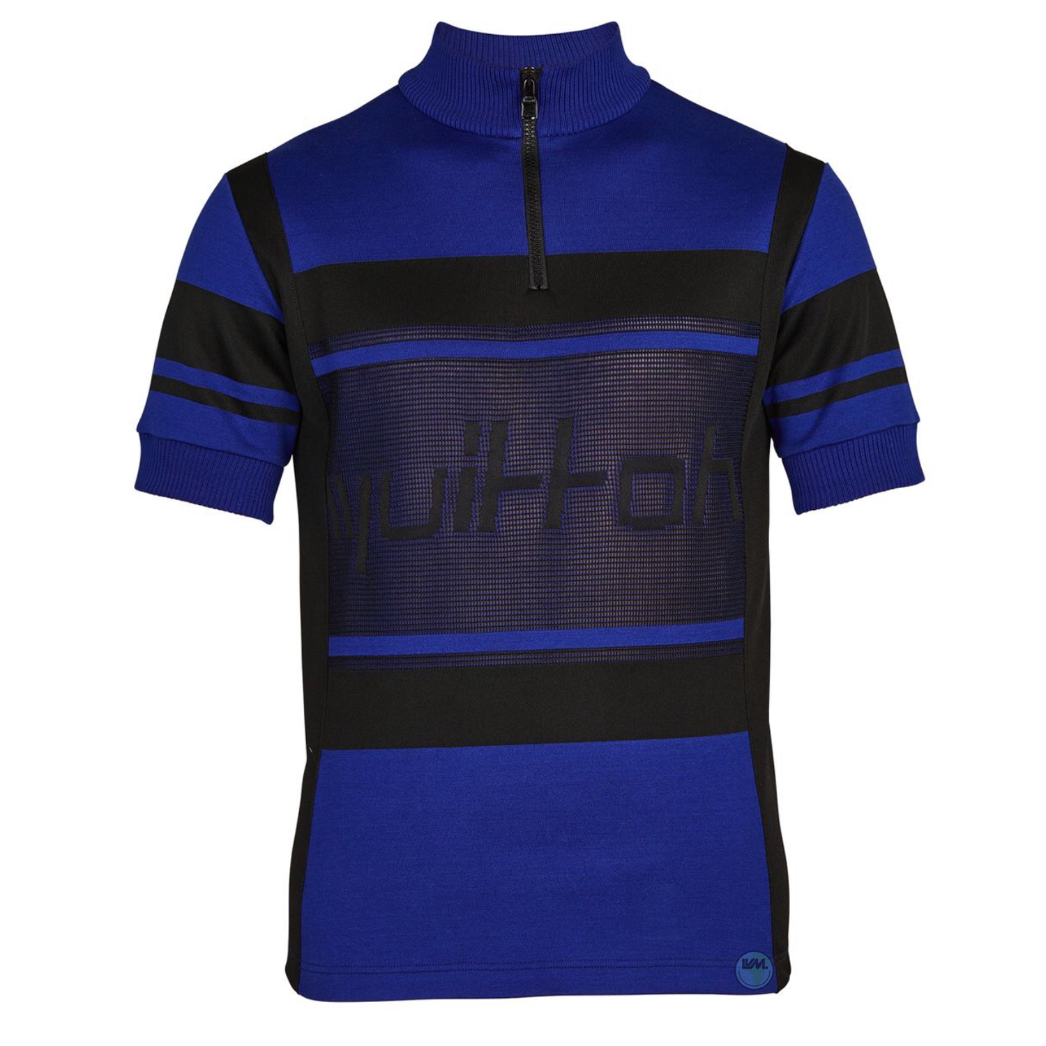 JACQUARD CYCLING TOP - €690 $9201a5cn1bleu