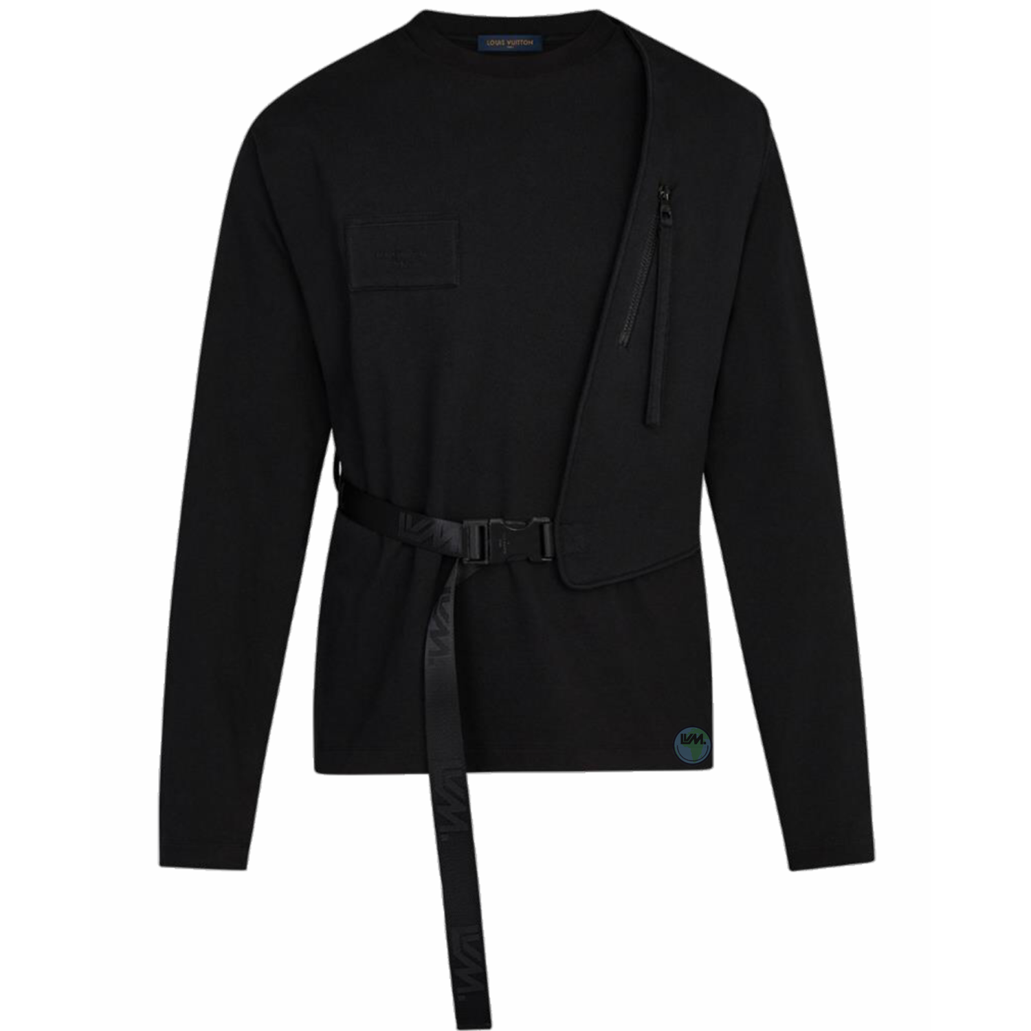 gilet long sleeve tee - €790 $10501a5cnynoir