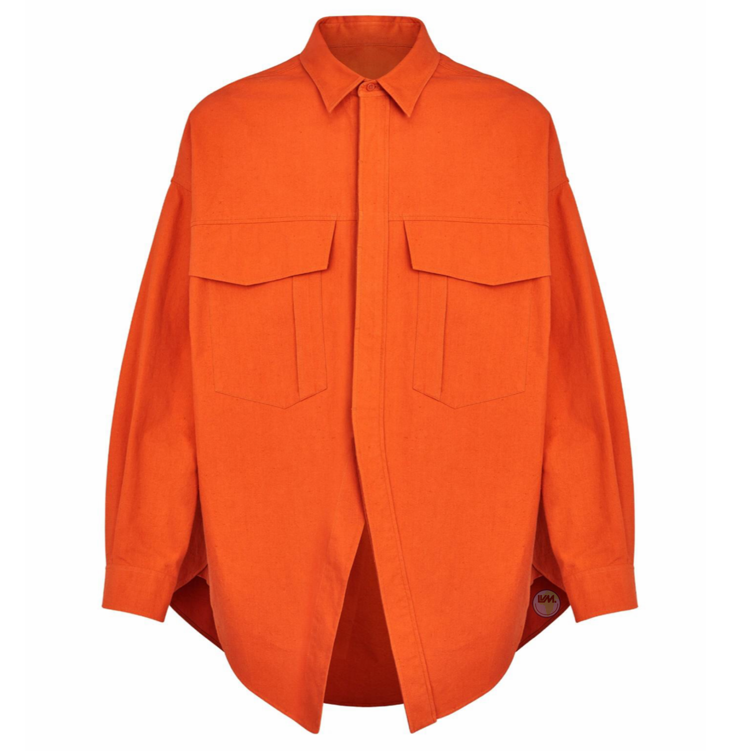 CUT AWAY OVERSIZED SHIRT - €990 $13201A5CMCROUILLE