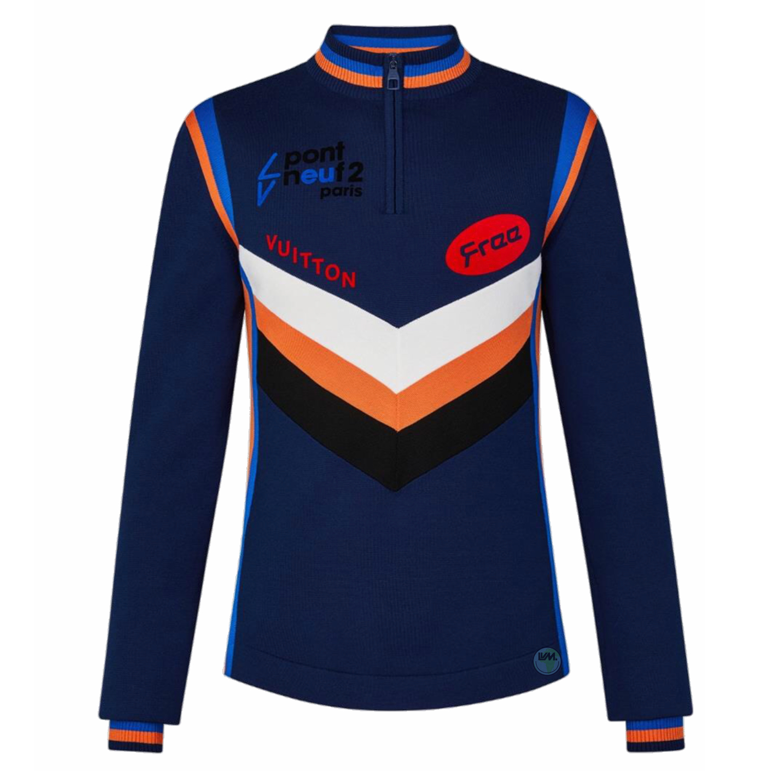 LONG SLEEVE CYCLING TOP - € $12701A5CE3BLEU