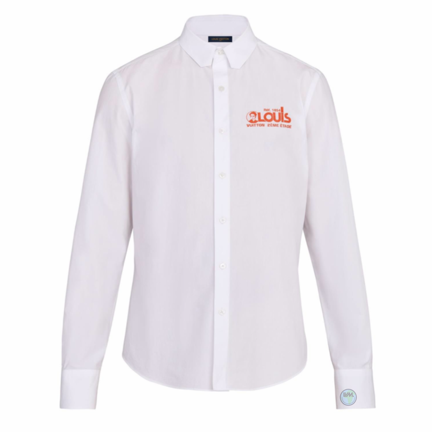REGULAR SHIRT - €550 $7351A5DCLBLANC