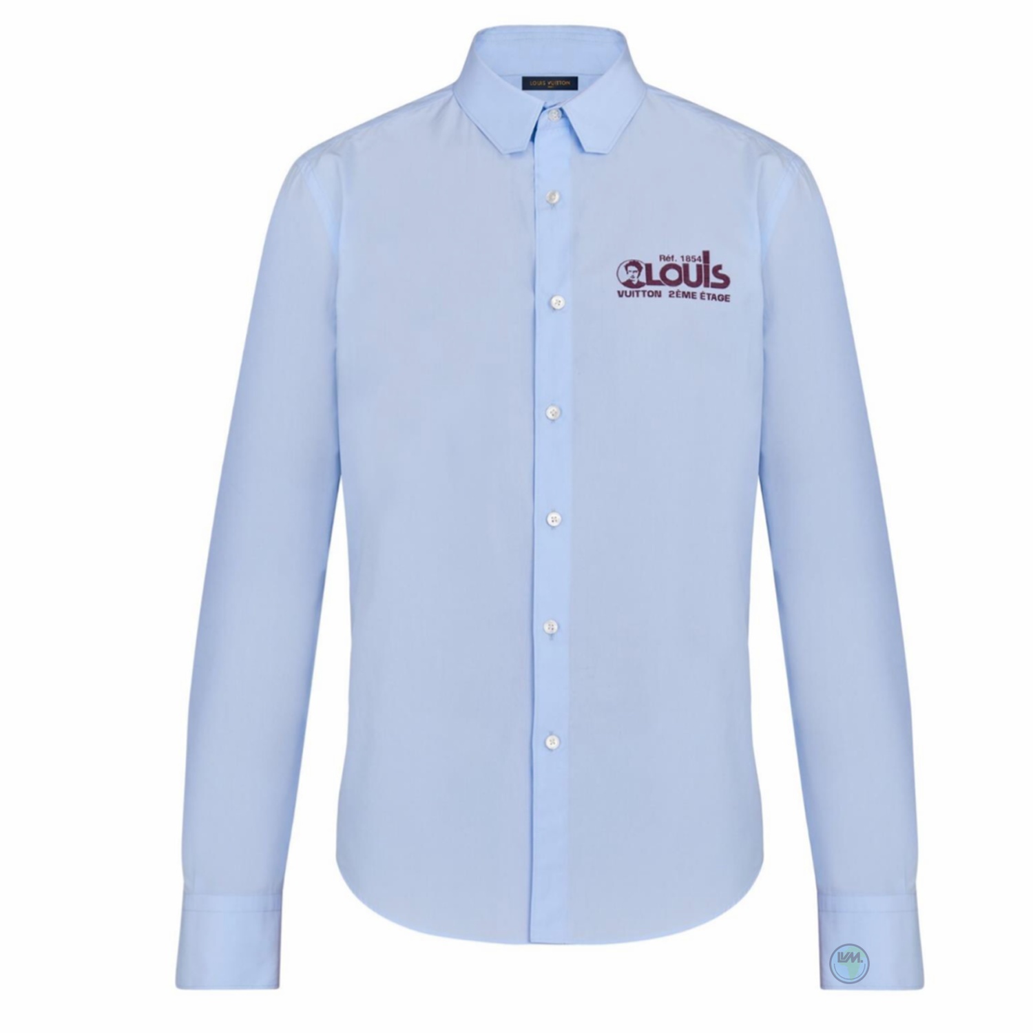 REGULAR SHIRT - €550 $7351A5DCDBLEU