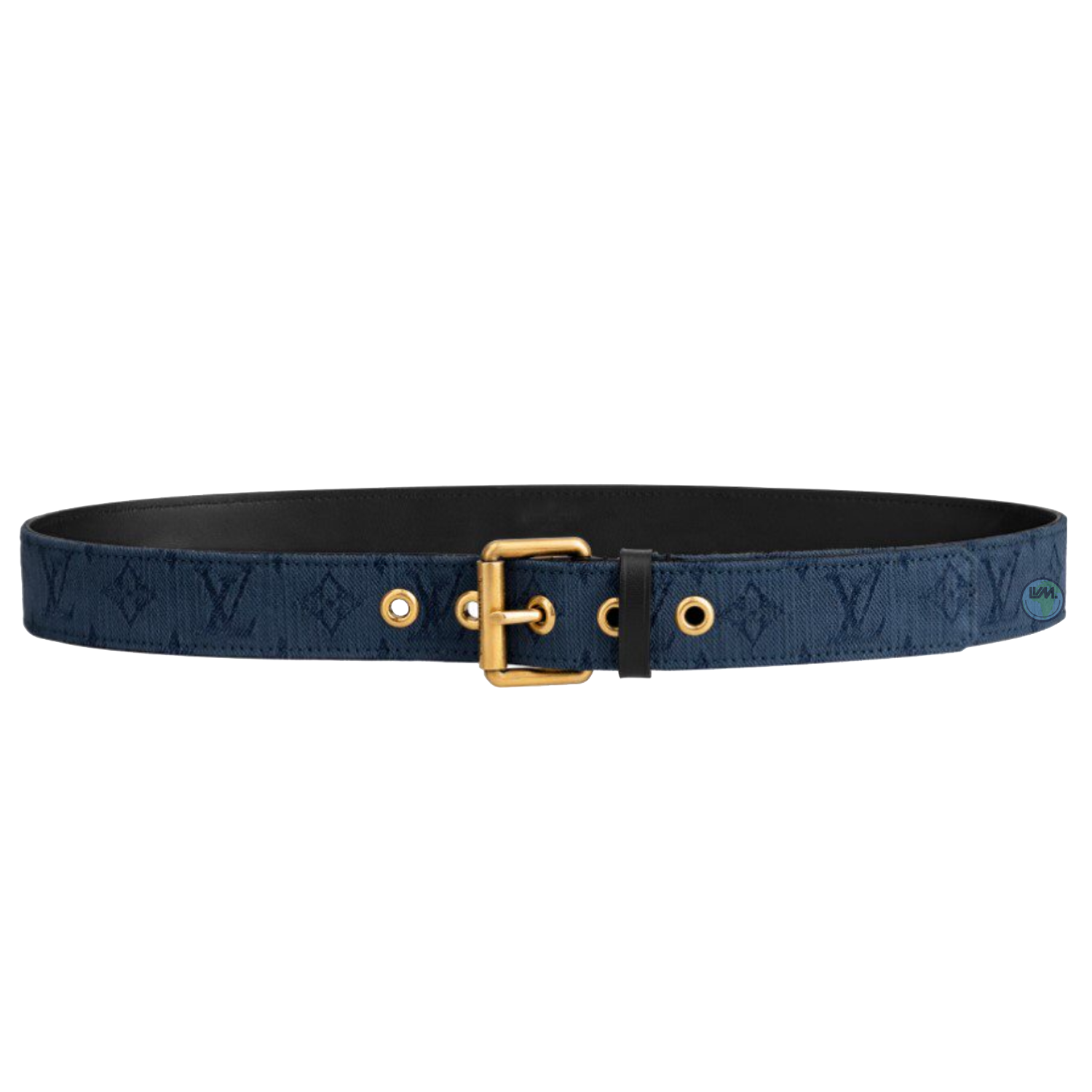 signature 35mm - €485 $715m0175monogram denim navy