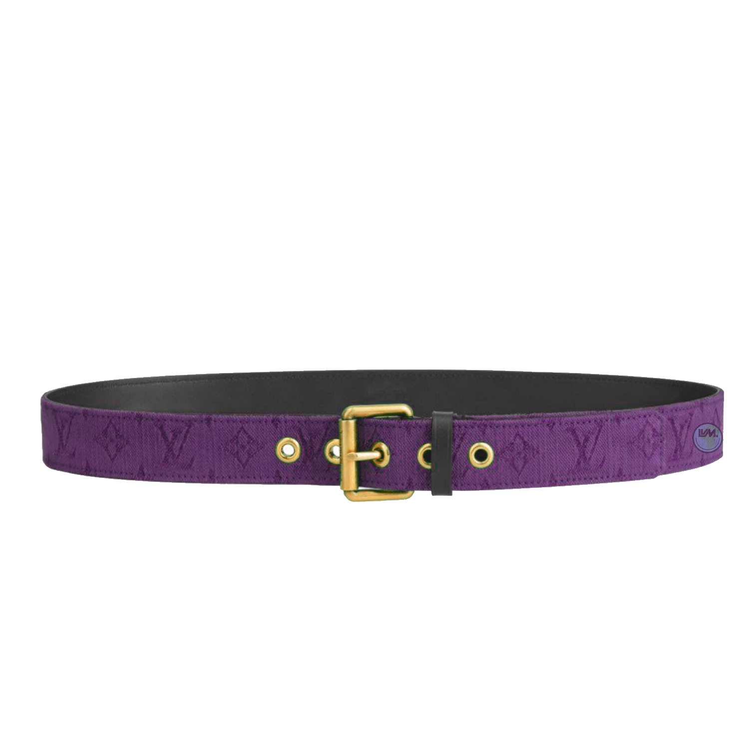 signature 35mm - €485 $715m0177monogram denim purple