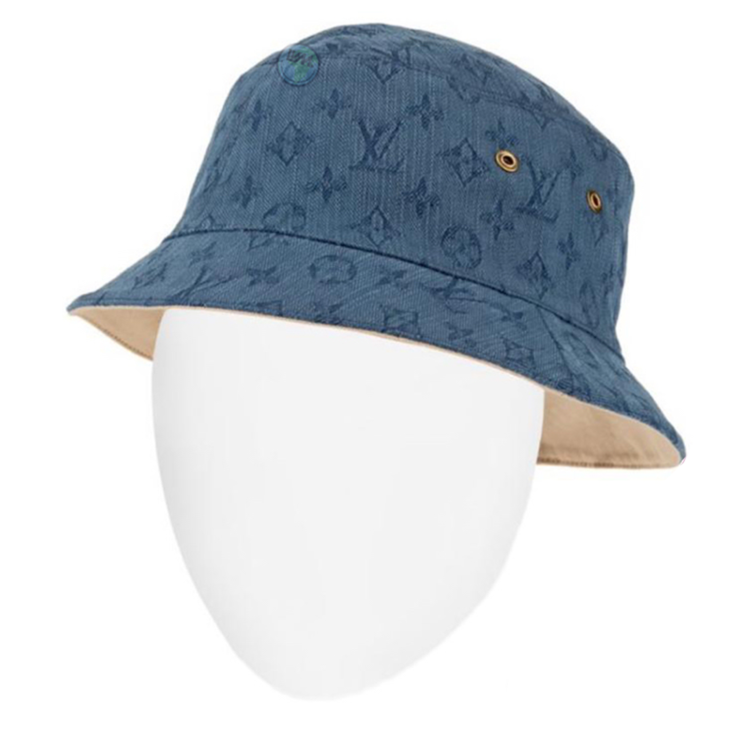 denim bucket hat - €350 $485mp2440monogram denim navy