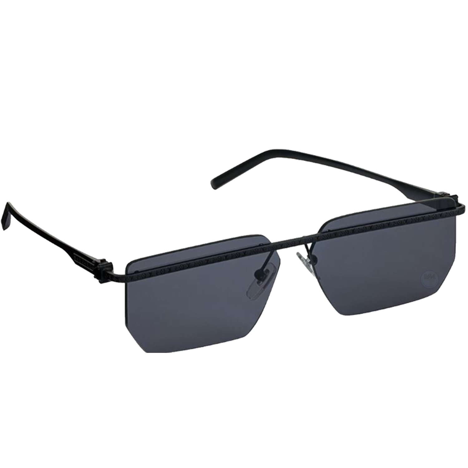 line square sunglasses - €435 $635z1205unoir