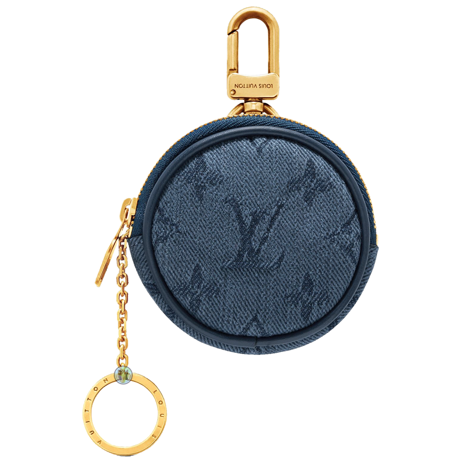 bag CHARM - €450 $M68290MONOGRAM DENIM NAVY