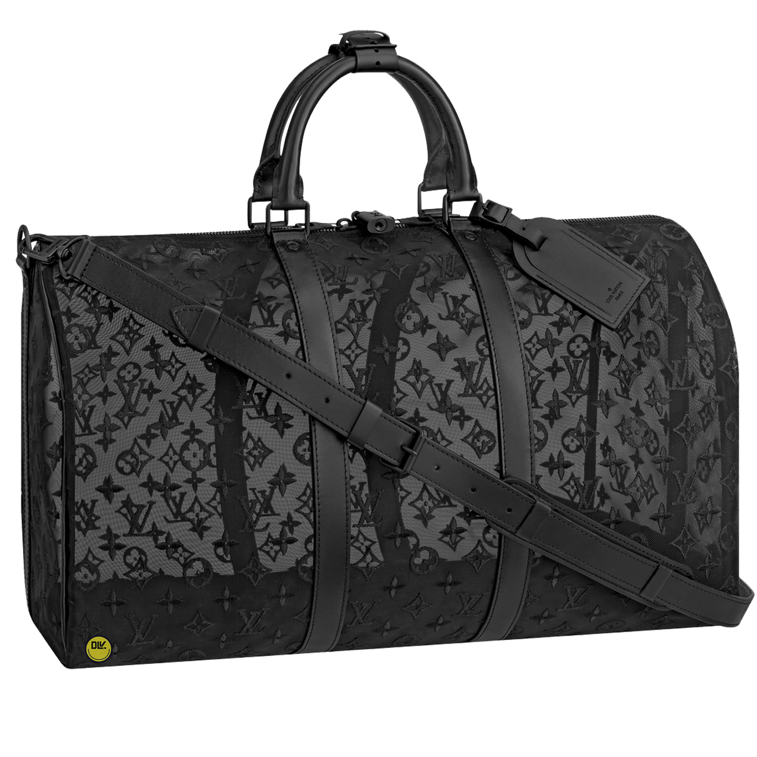 KEEPALL 50B - €2700 $3850M53971MONOGRAM SEE THROUGH