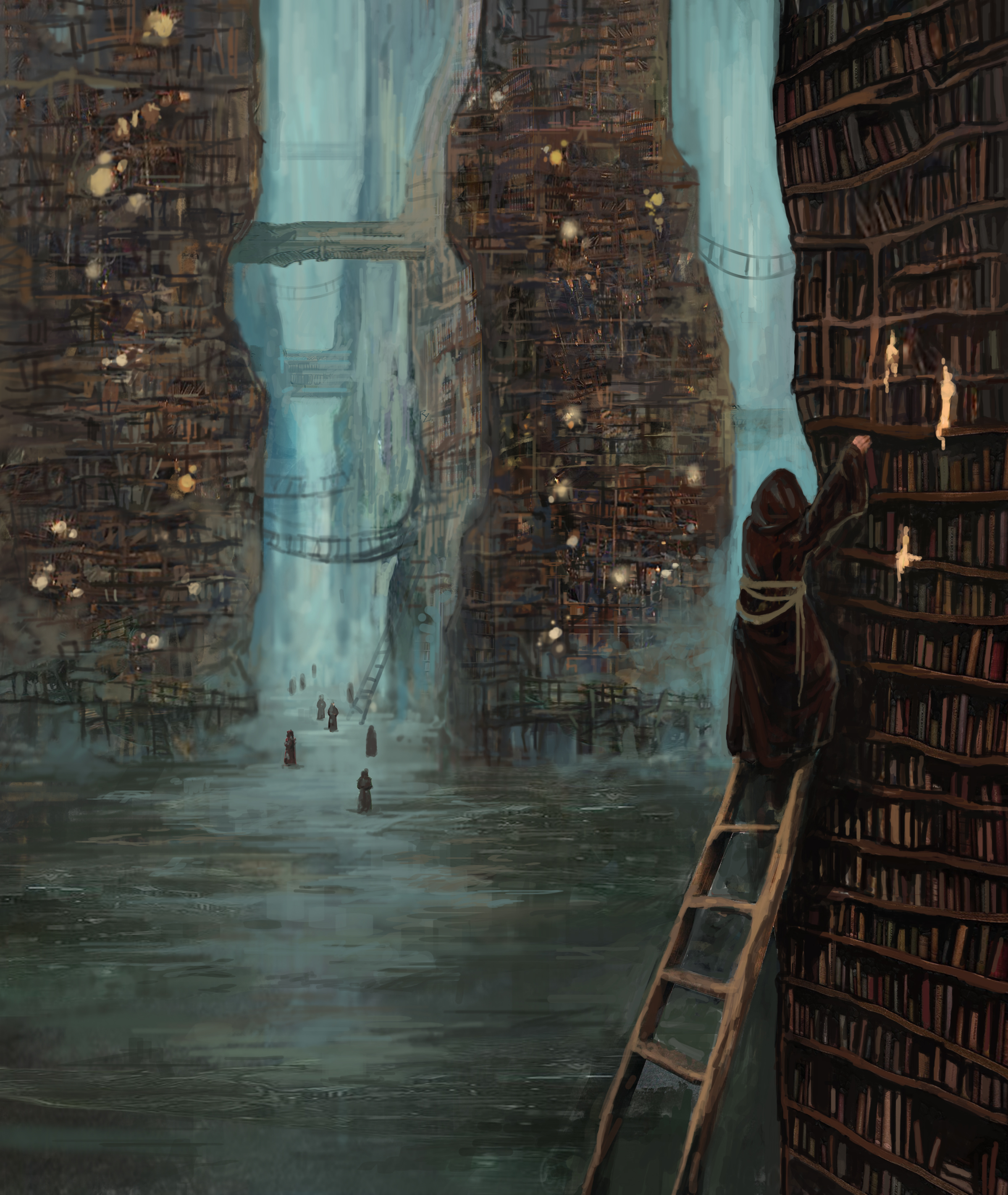 Card - Libraries of Sahas Artist -Rumyana Zarkova