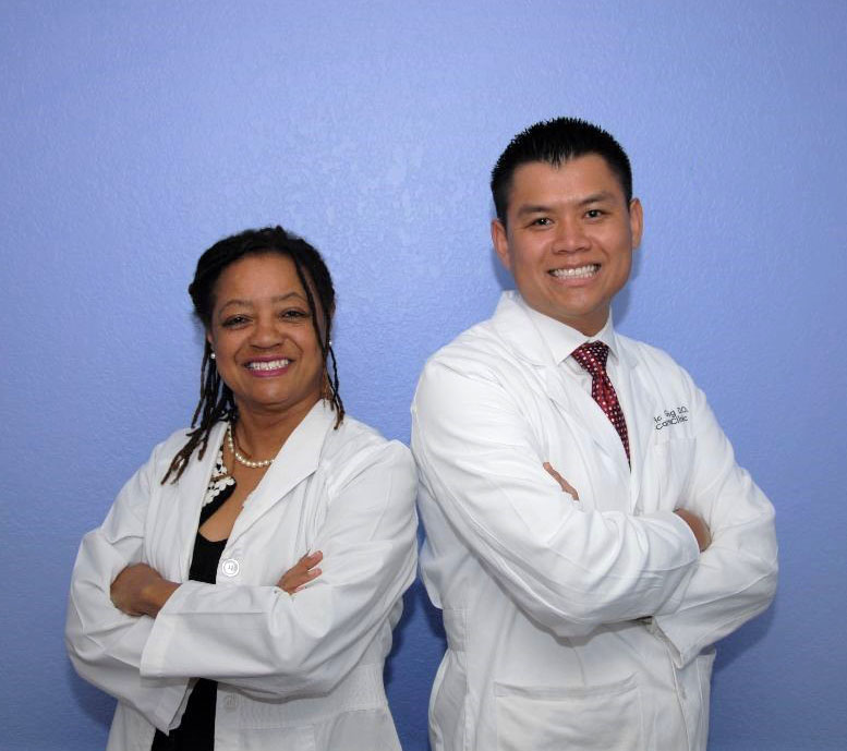 Dr. Lenita Williamson & Dr. Eric Giang