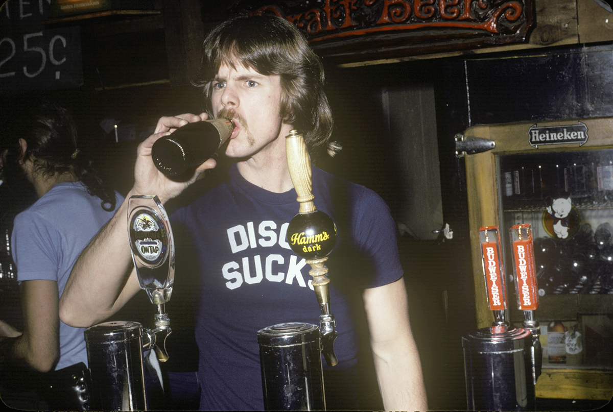 Rock-n-roll bartender