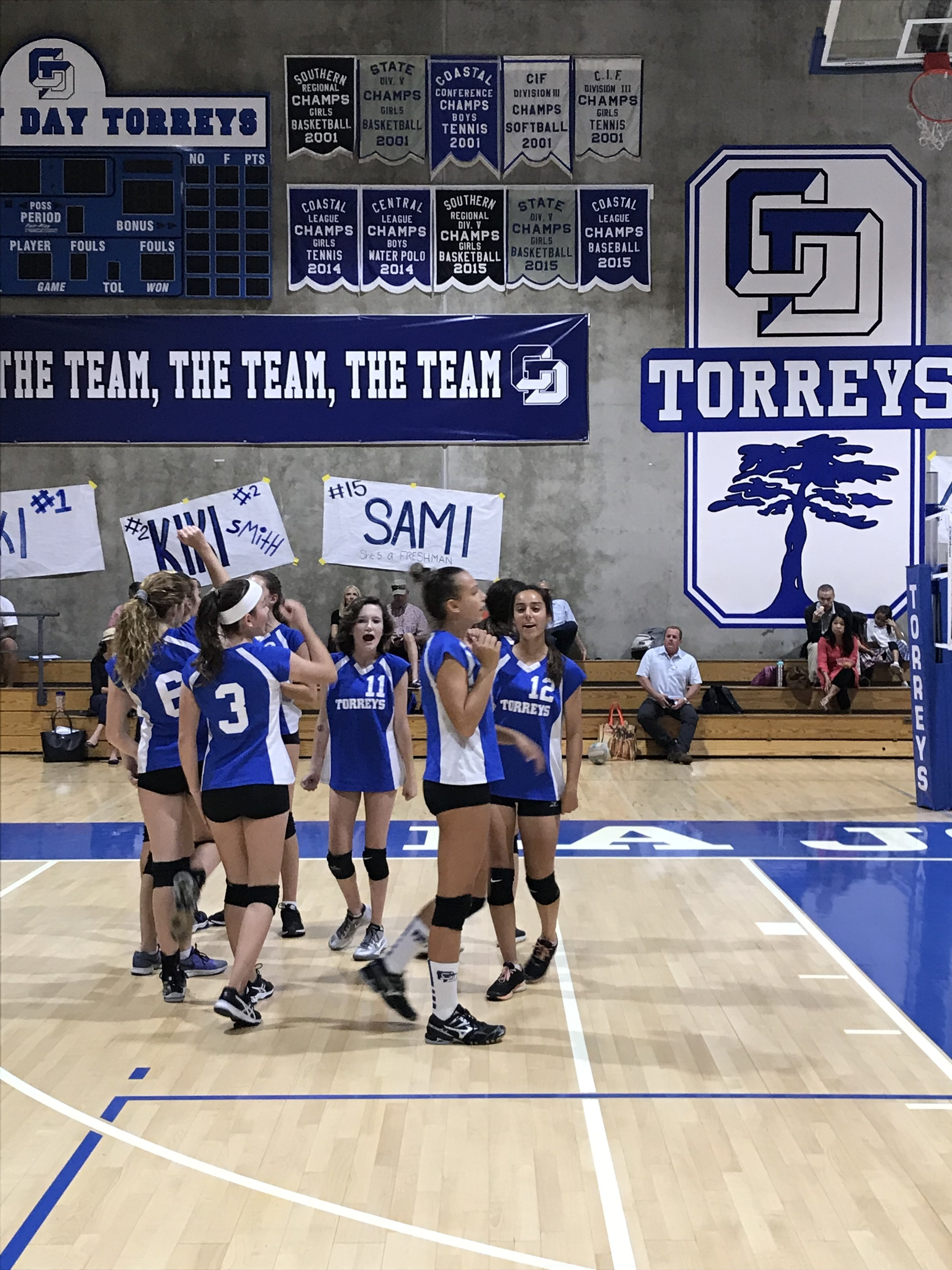 The Lady Torreys won vs. Christian, 25-11, 25-19. Christian put up a great fight!