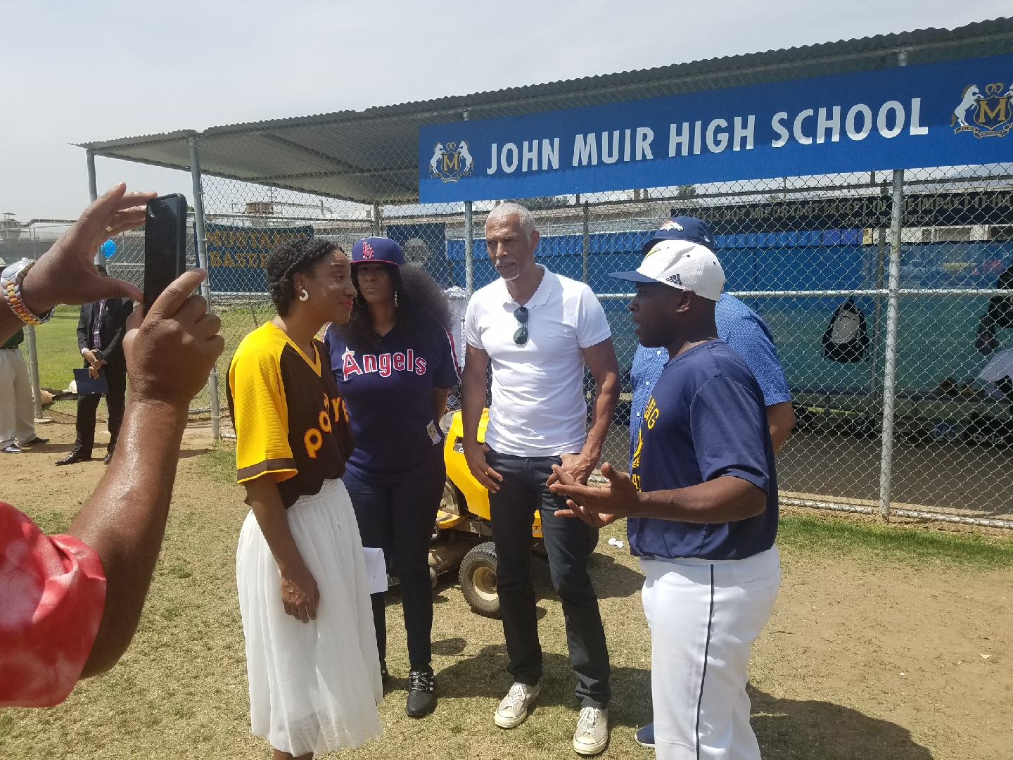 Our family would like to thank John Muir High School from the bottom of our hearts.