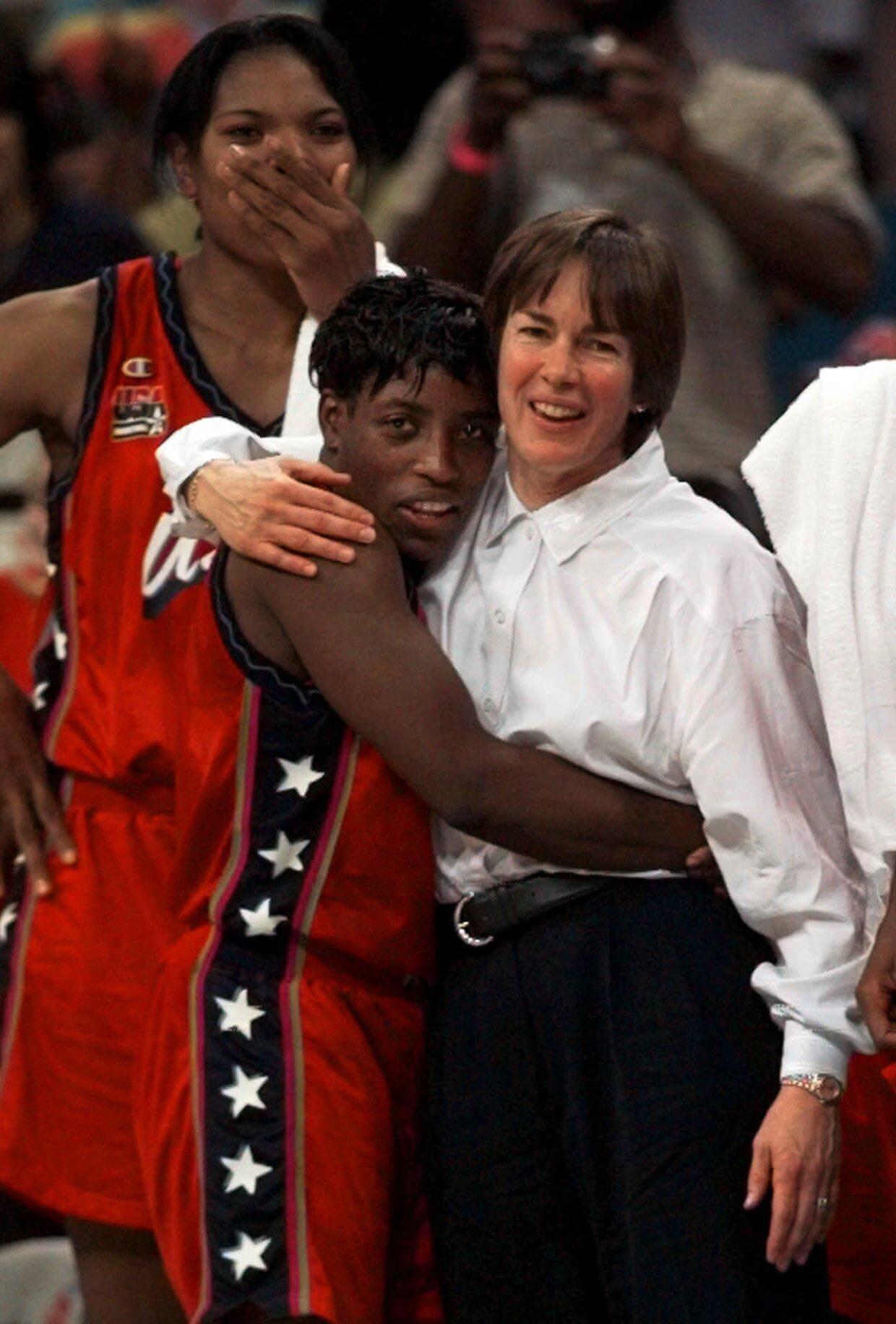 Coach Tara VanDerveer in the 1996 Summer Olympic Games in Atlanta