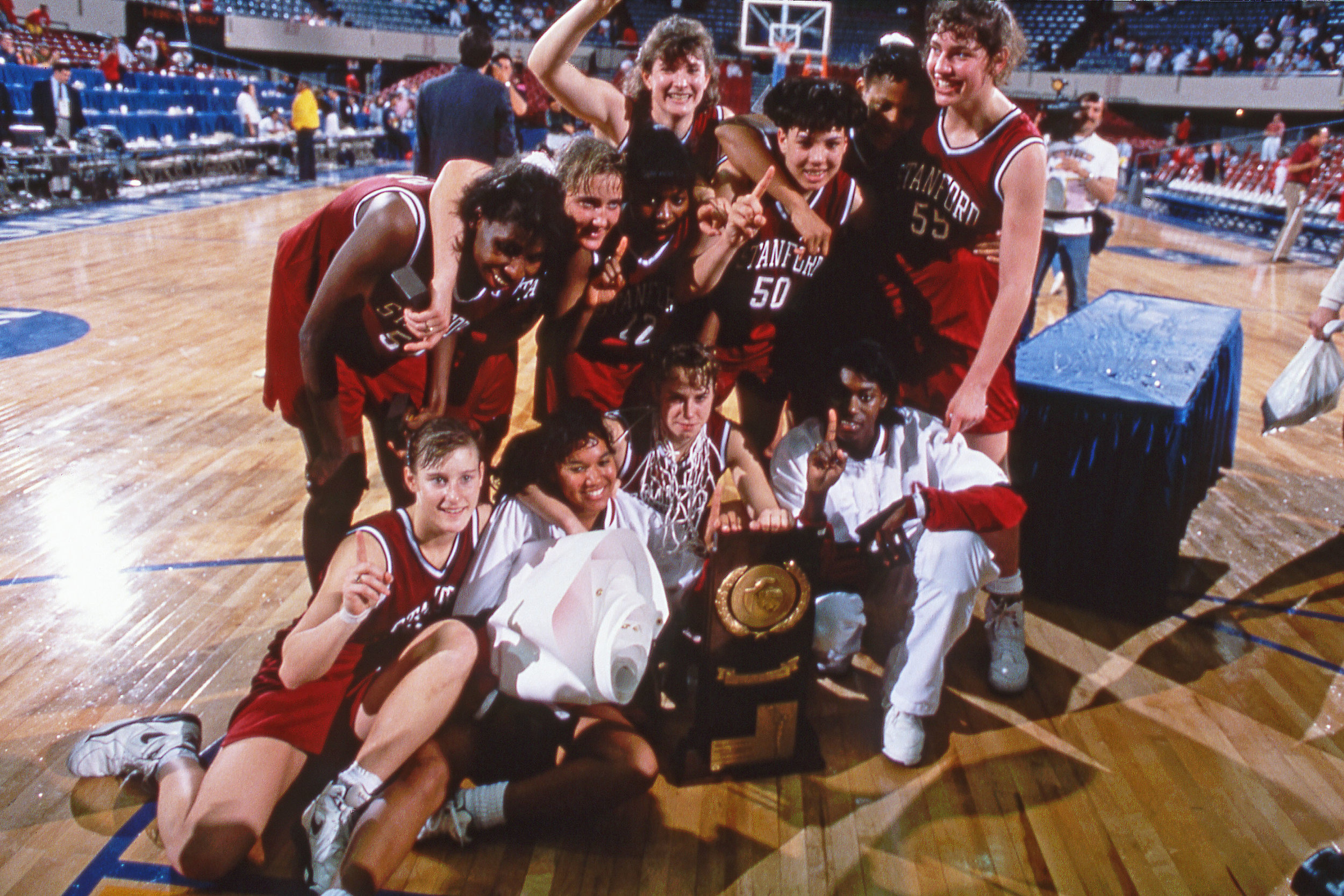 1992 NCAA Division I Women's Basketball Champions: Stanford University