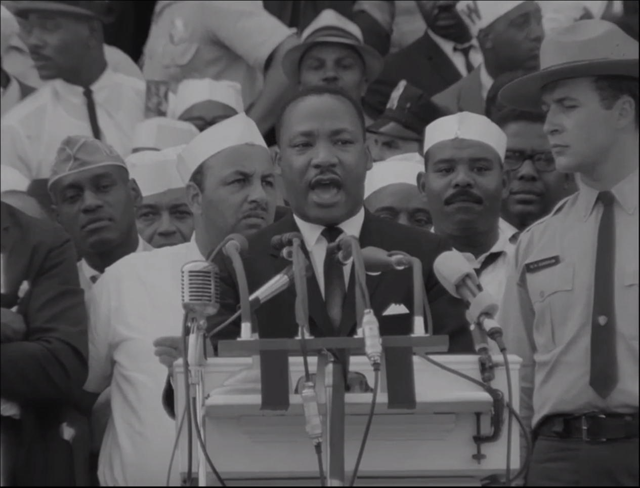 """August 28, 1963, the day Martin Luther King delivered his """"I Have A Dream"""" speech."""