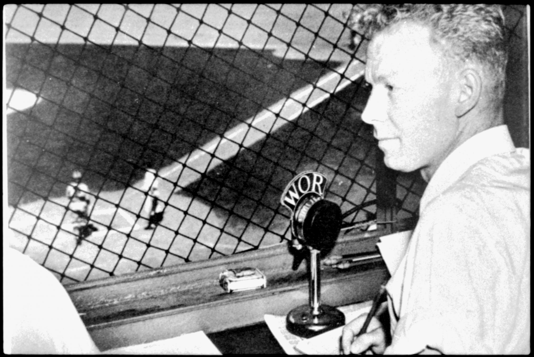 Red Barber had a revelation because of Robinson.