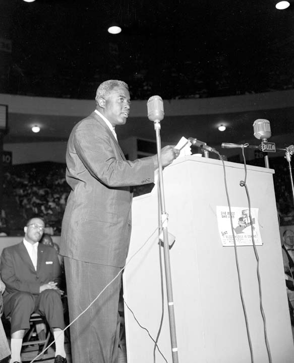 Jackie Robinson's post baseball career launched the beginning of his partnership with the NAACP