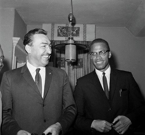 Congressman Adam Clayton Powell Jr. With Malcolm X