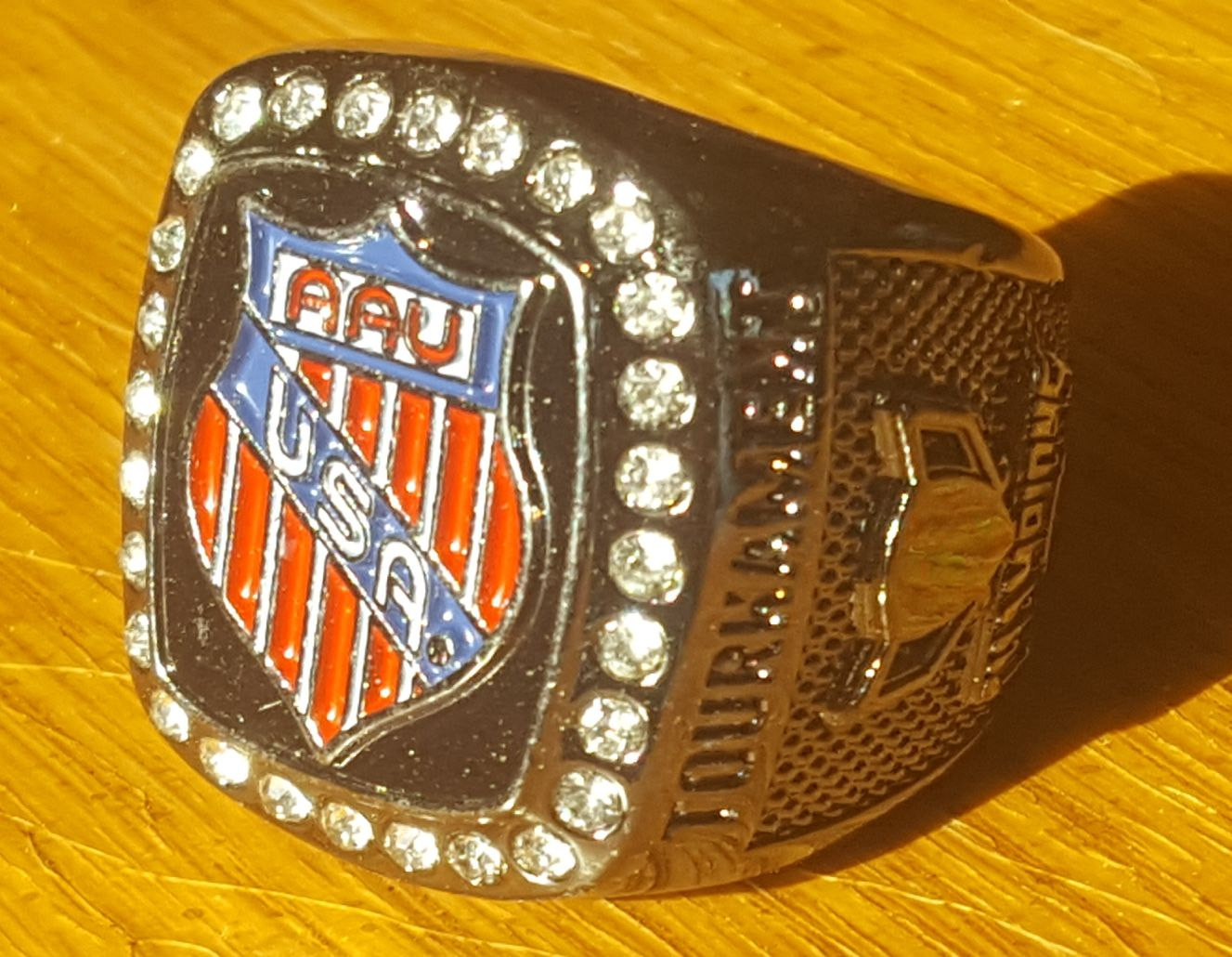 In the Southern Pacific region of AAU basketball, we play for these rings.