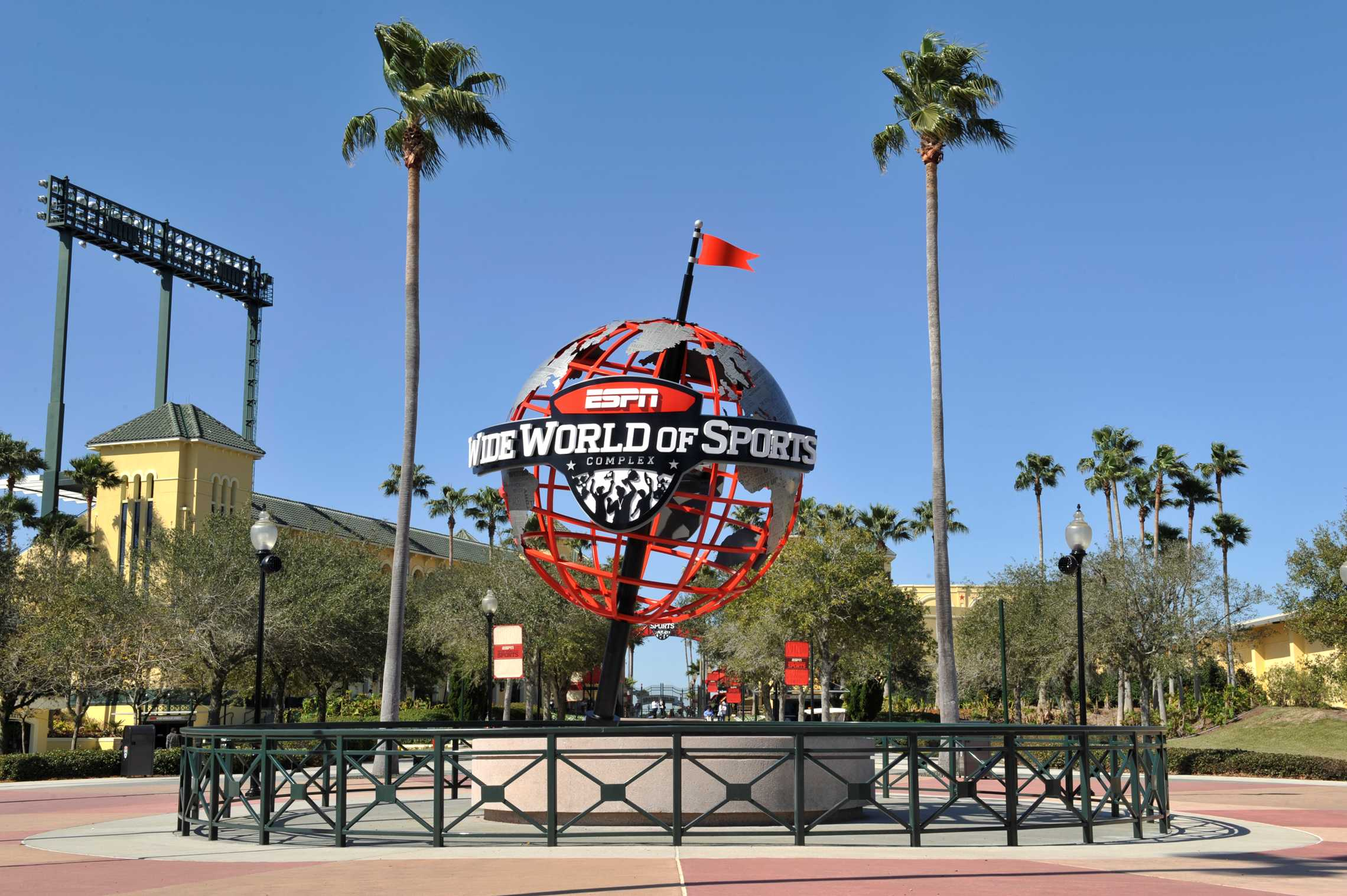 The Disney Wide World of Sports Complex, the site of the 2019 13U National Championships in July.