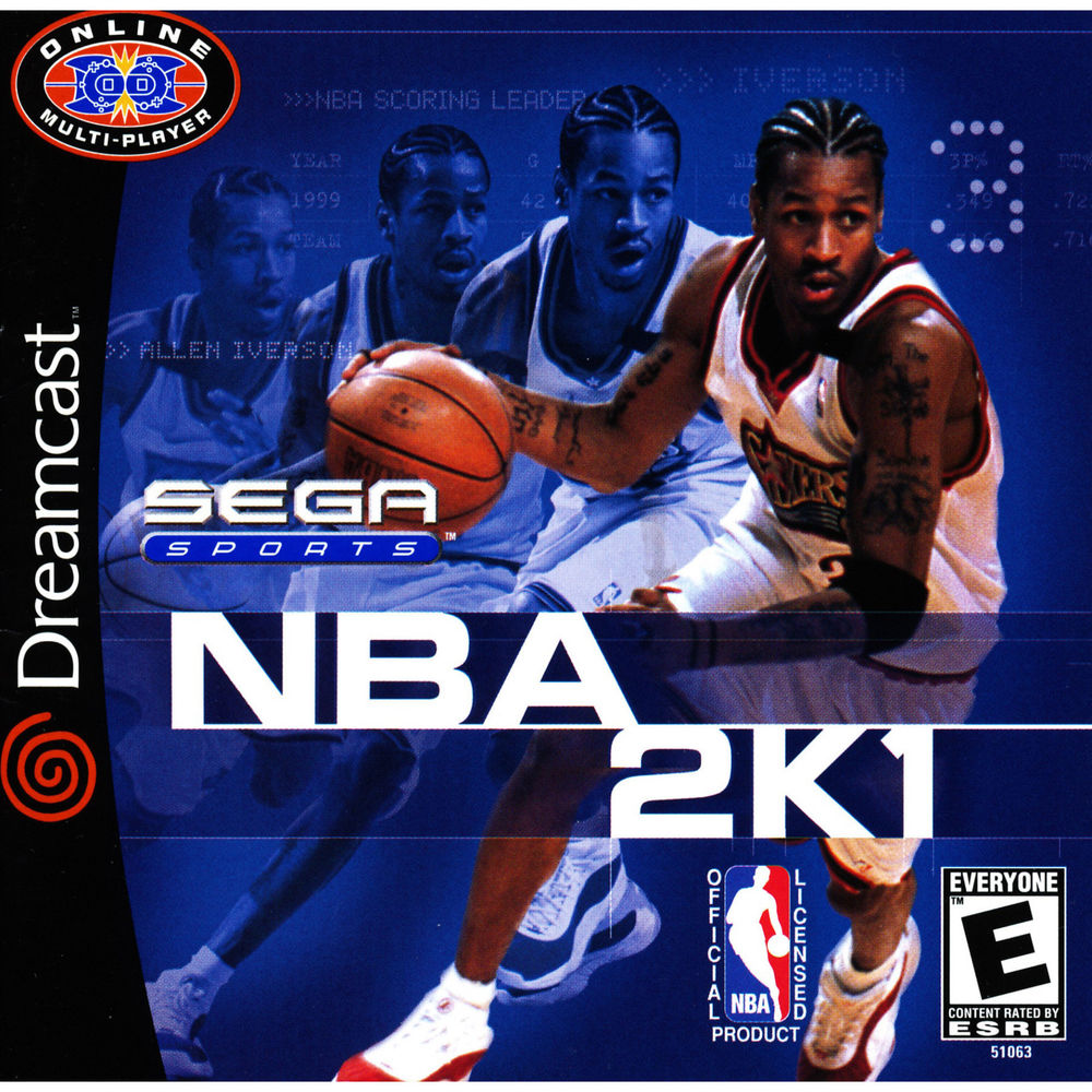 The first editions of NBA 2K were published by Sega Sports