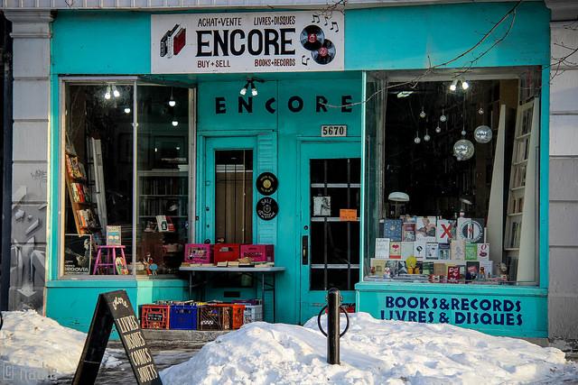 Encore Records in NDG