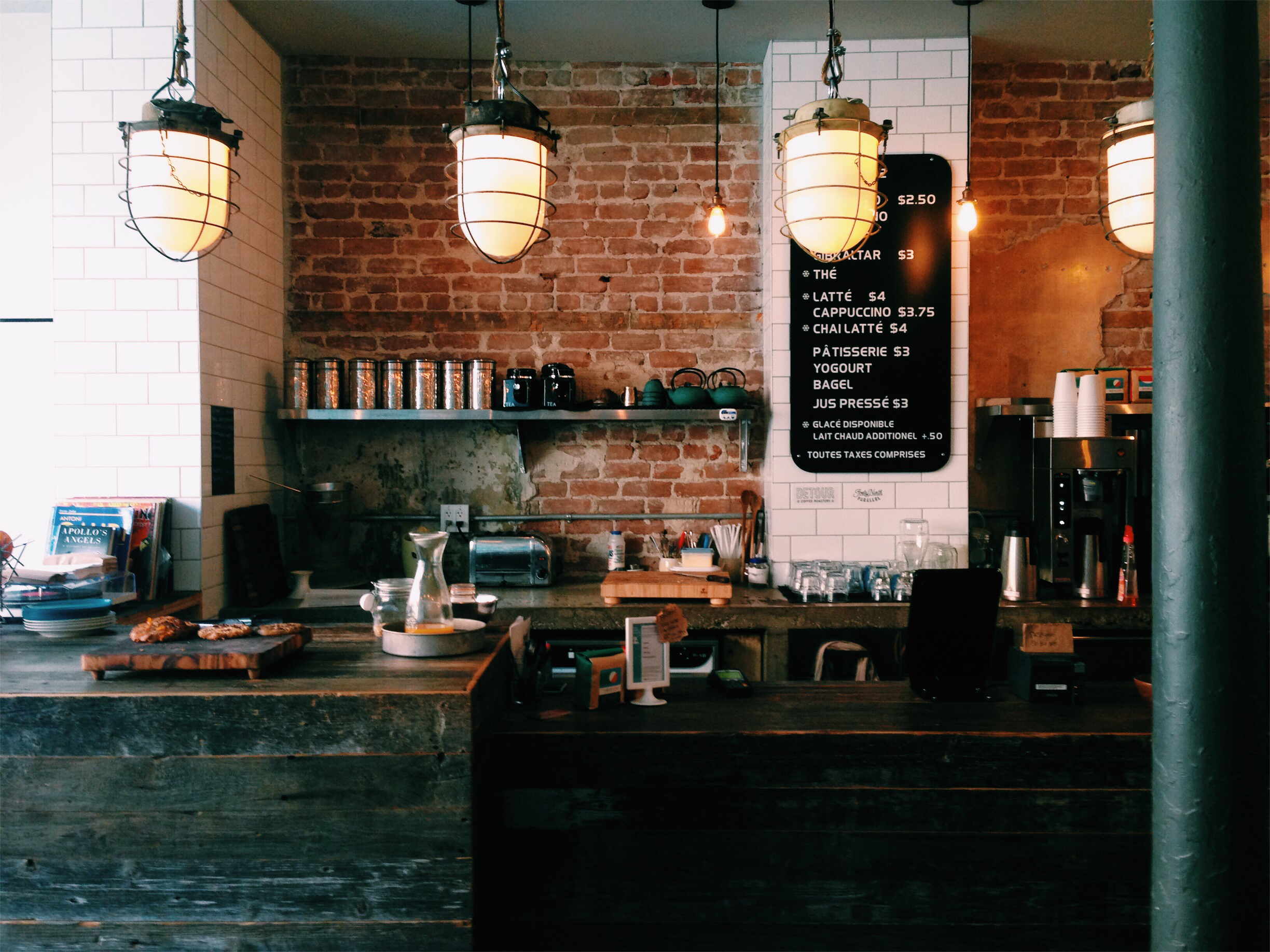 Cafe Kitsune/Nocturne in the Plateau, Montreal via Lora Weaver Mysteries by Katy Leen