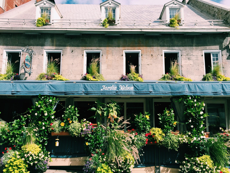 Jardin Nelson in Old Montreal via Lora Weaver Mysteries by Katy Leen