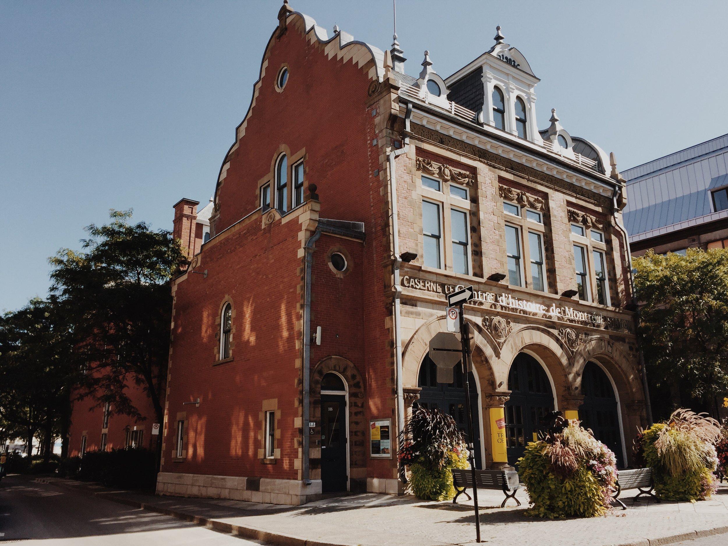 Centre d'historie de Montreal via Lora Weaver Mysteries by Katy Leen