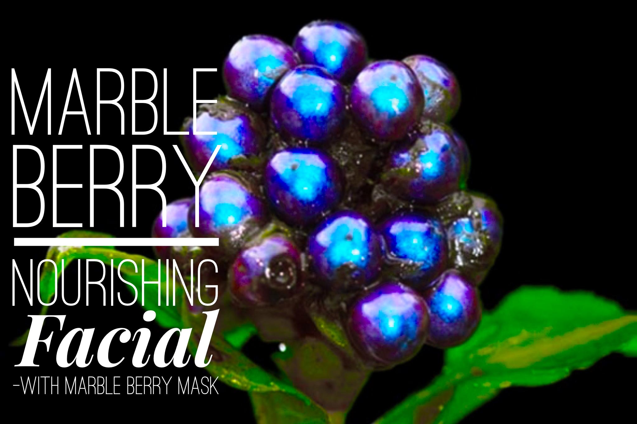 Marble Berry Nourishing Facial