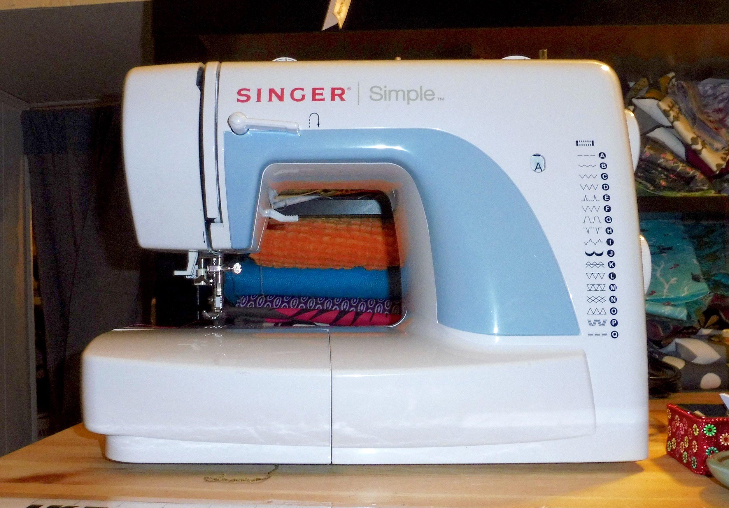 The original Cara B. sewing machine.