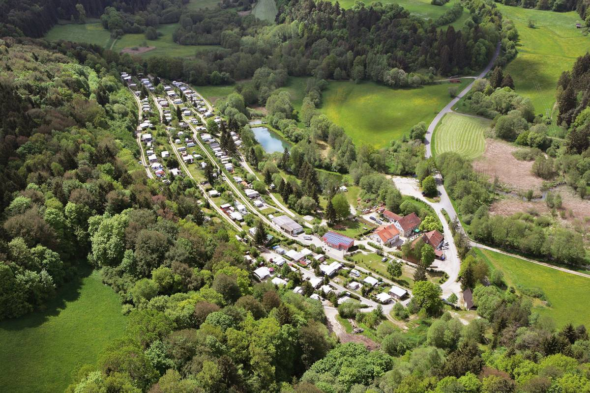 Nachhaltig bewirtschafteter Campingplatz