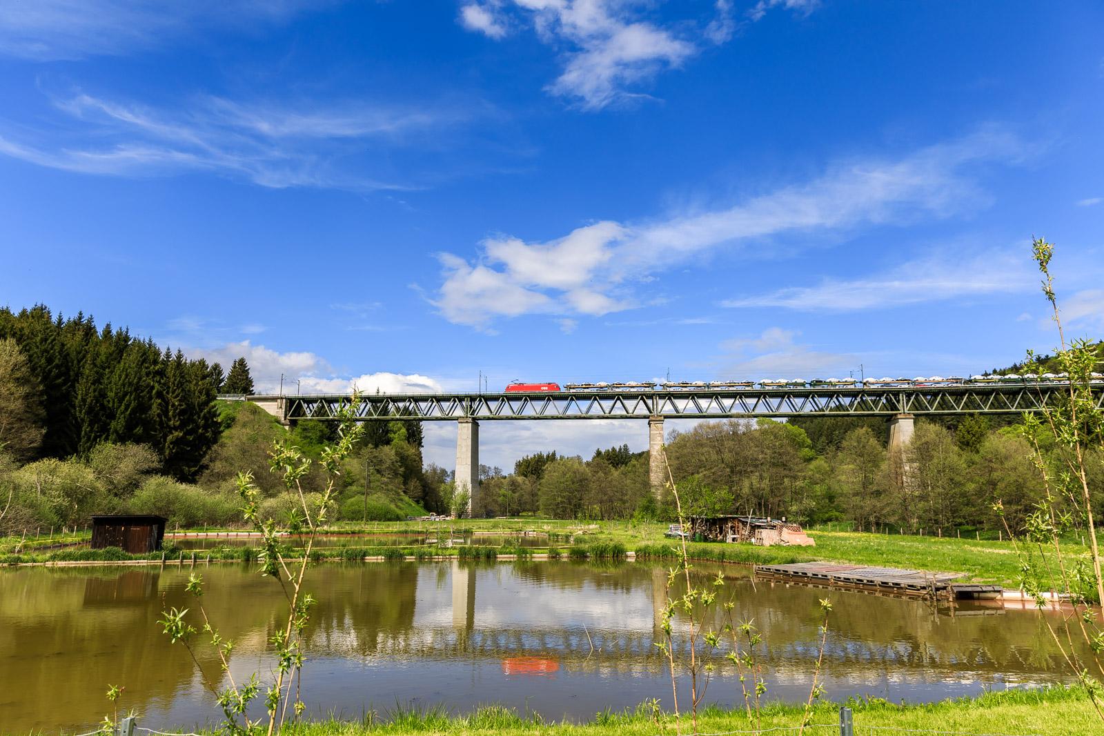 Eisenbahnbrücke erbaut 1871