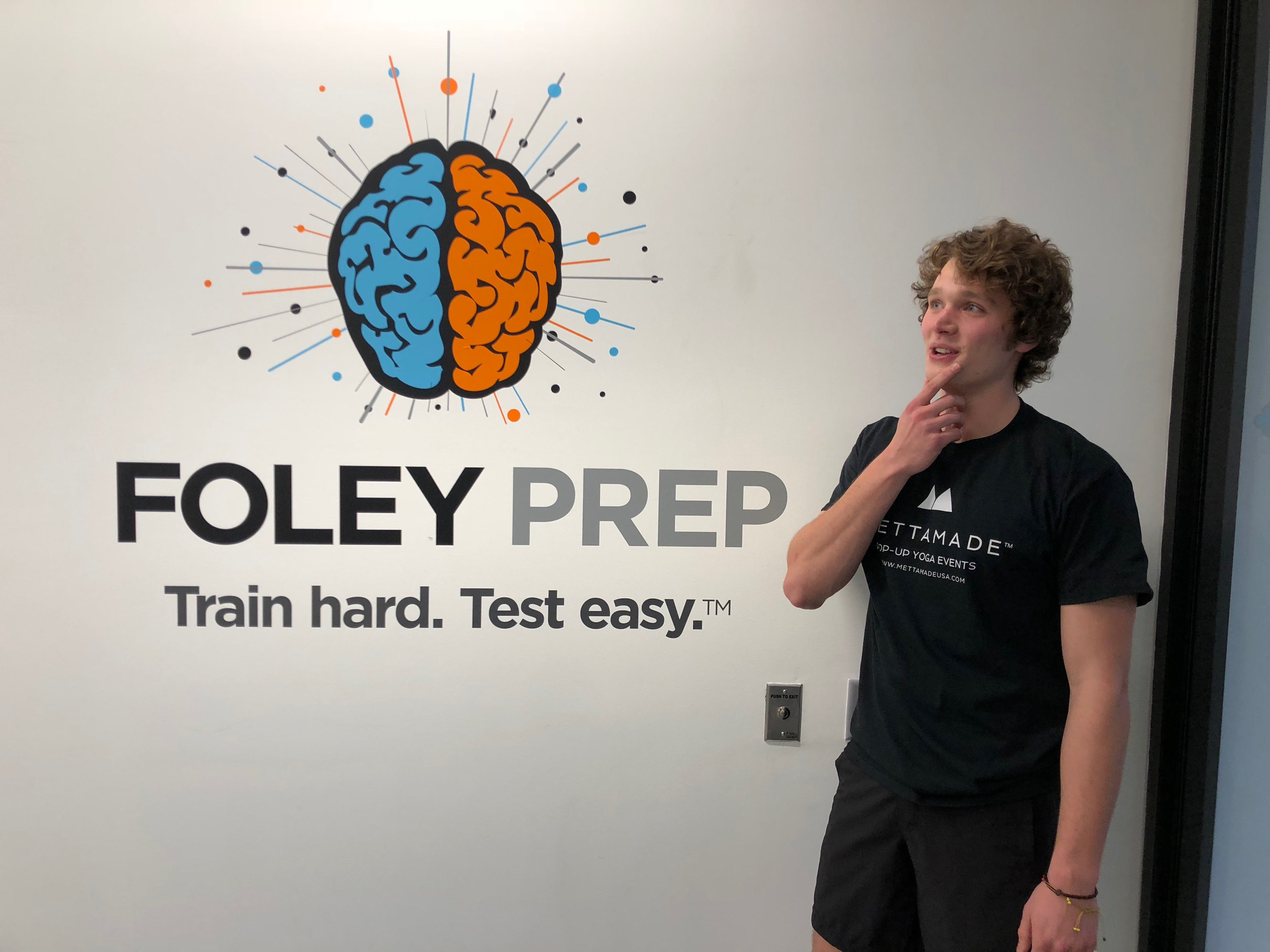 Welcome — Foley Prep | Train hard  Test easy