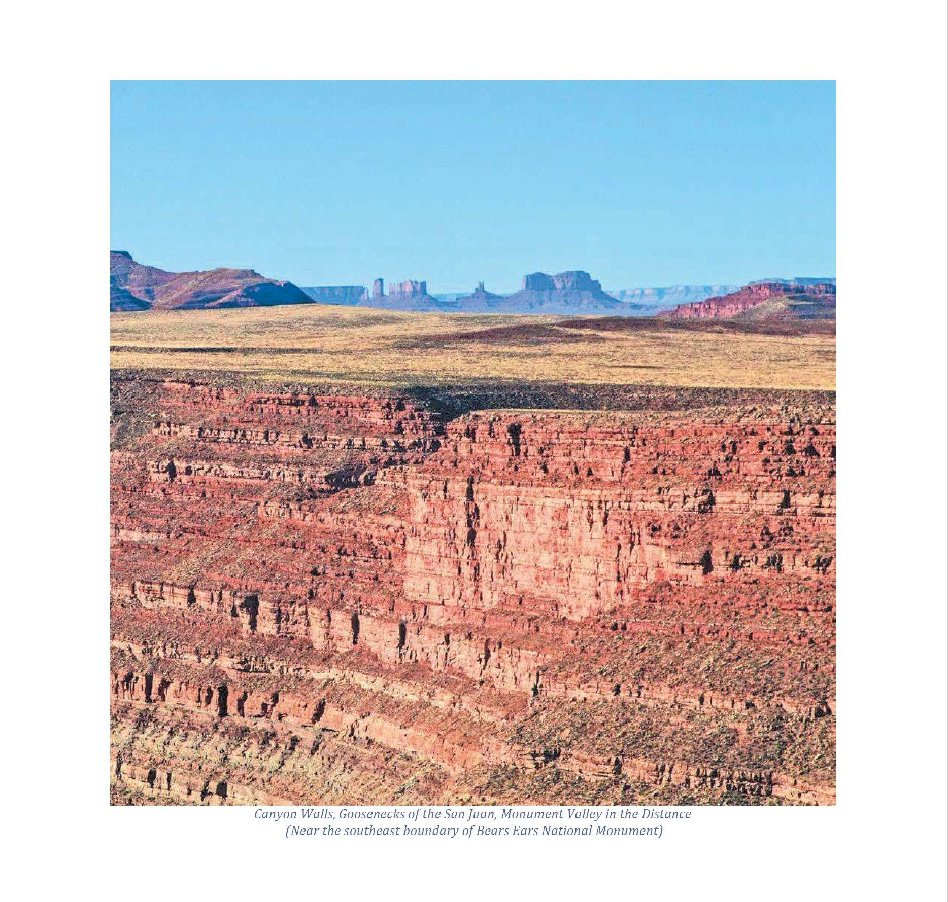 Goosenecks to Monument Valley  Bears Ears
