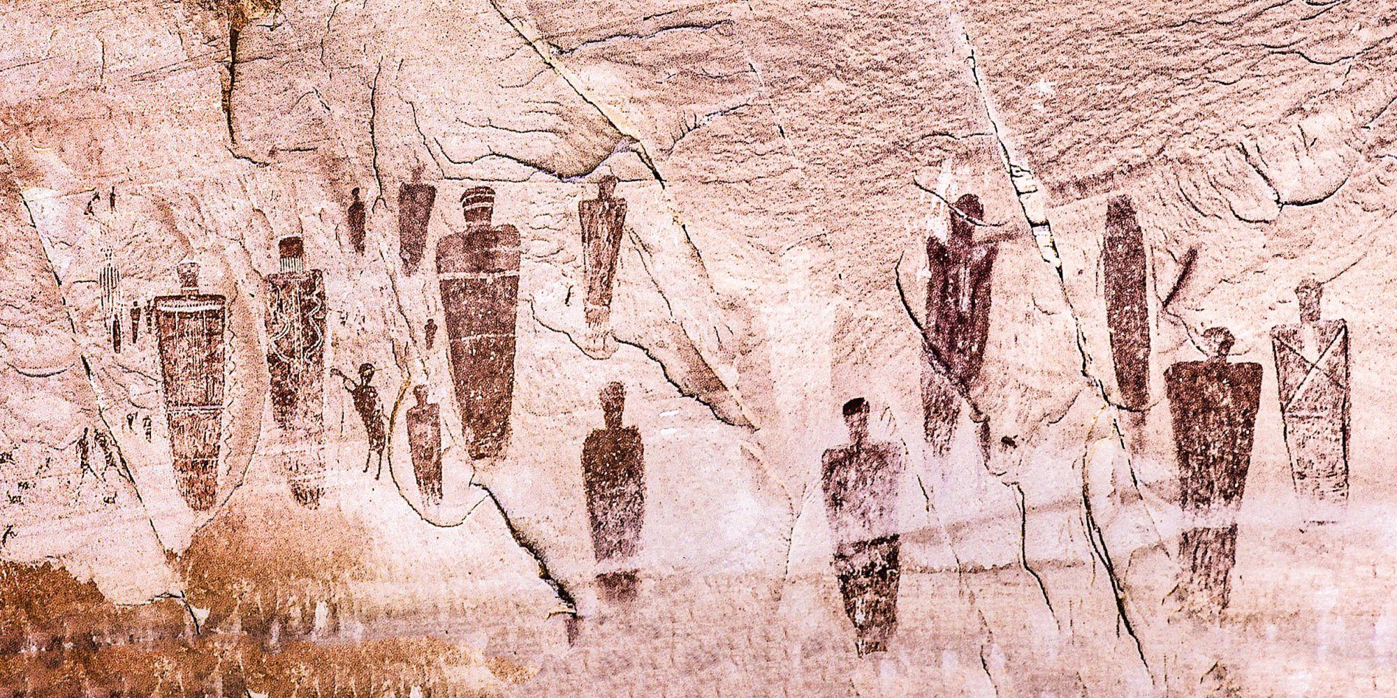 Petroglyphs  Bears Ears Country