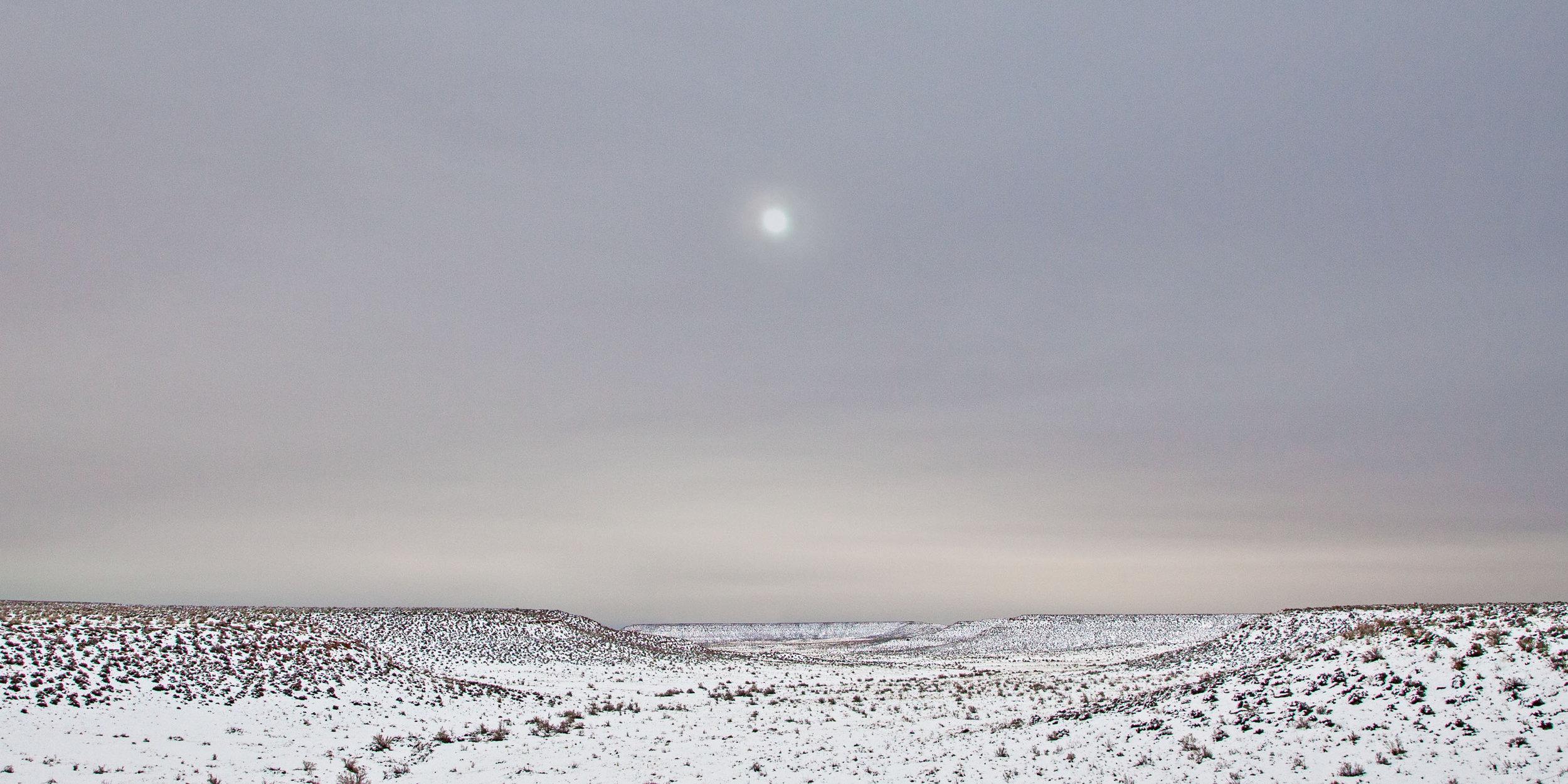 Moon over Mesas  Bears Ears