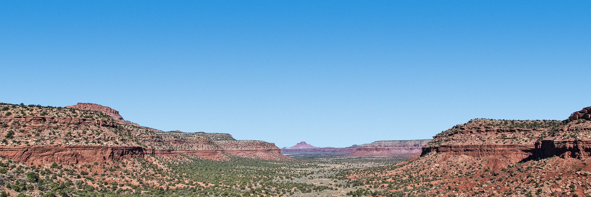 Panorama from Fry Canyon, not included in Trump's reduced monuments.