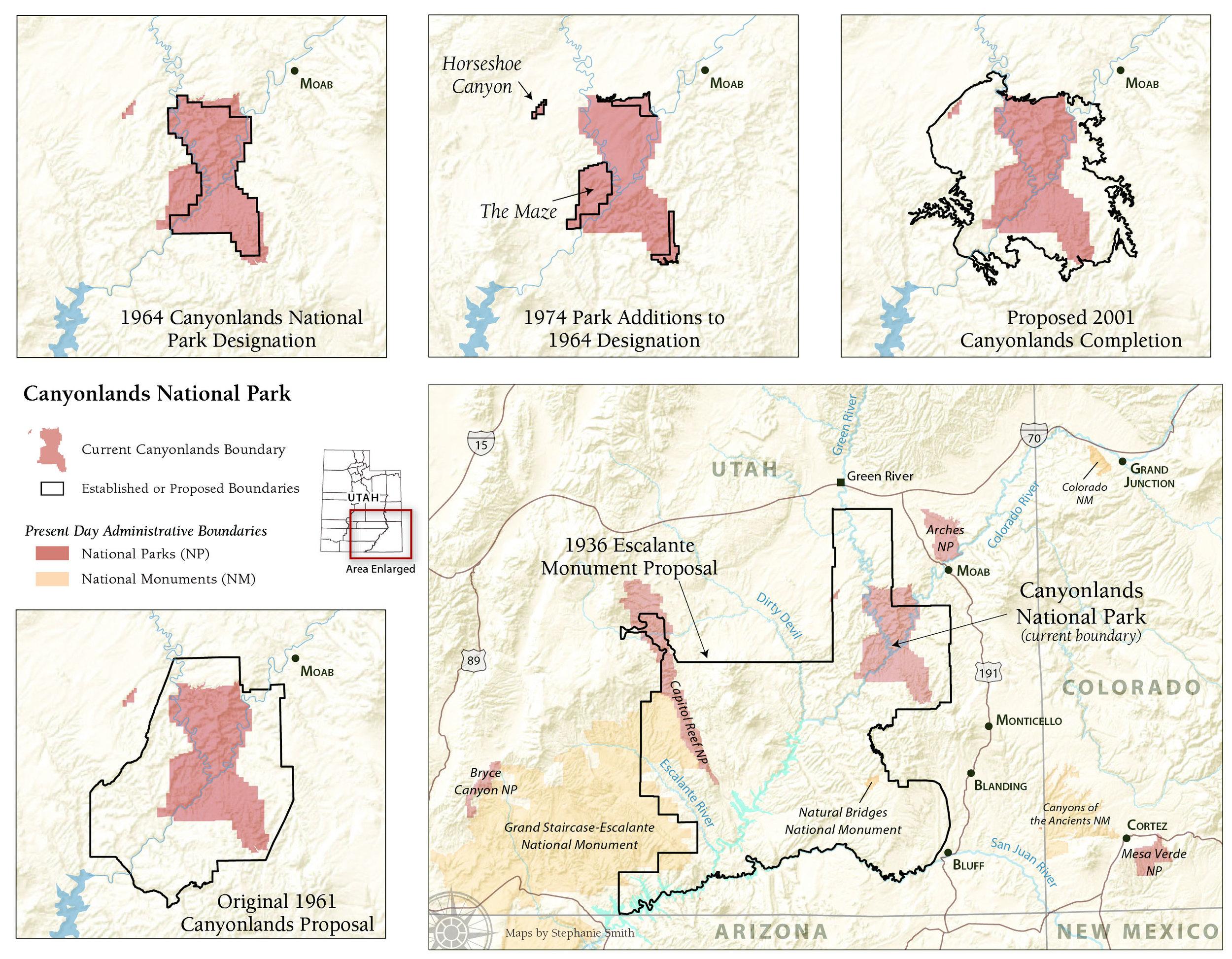 History of Canyonlands