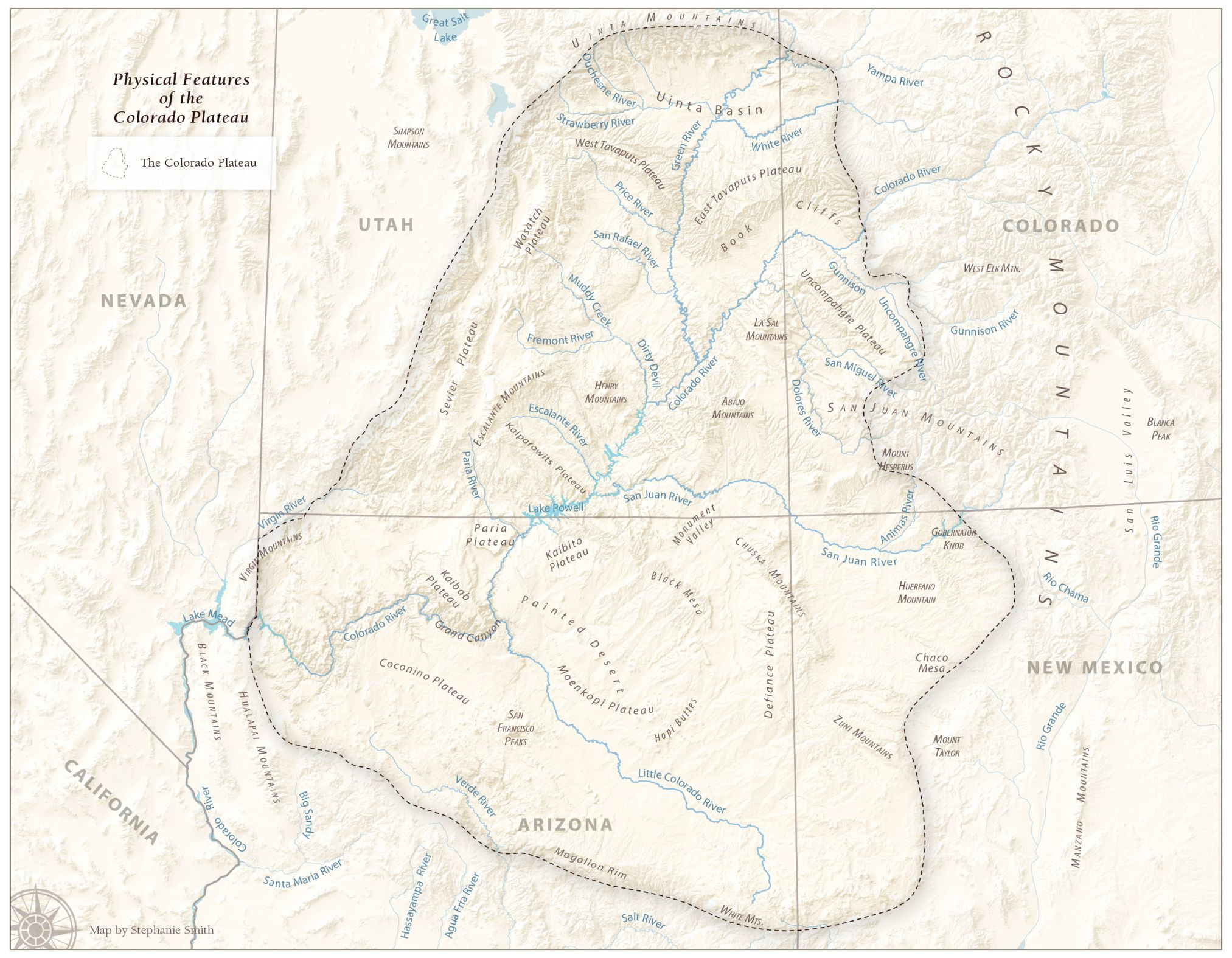Physical Features of the Colorado Plateau