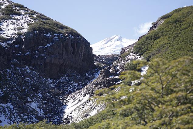 2. Volcán Nevado de Chillán visto a través de la Garganta - © Sofía Bernasconi, 2017