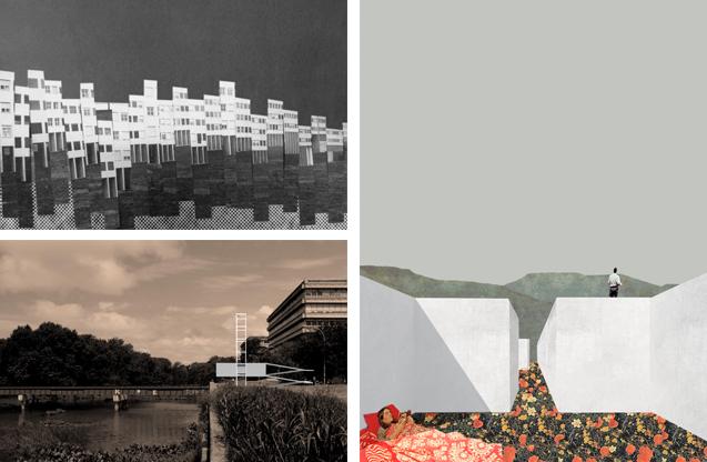 Fotomontajes de ejercicios de maestría y tesis - © Juan Tohme