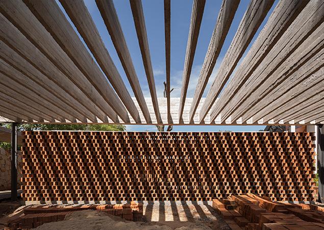 Casa Patios en construcción - © Federico Cairoli