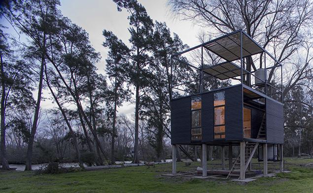 Cabaña Delta - © AToT Arquitectos