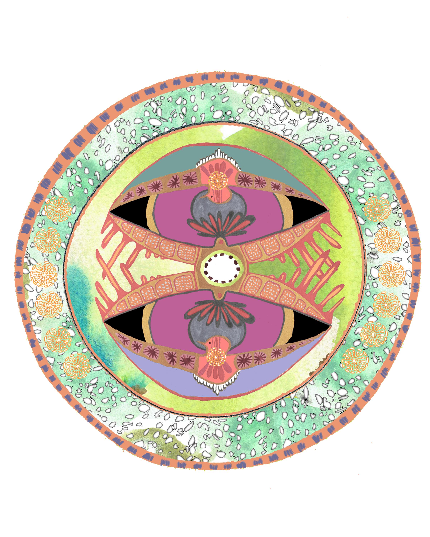 bohemian dishware design