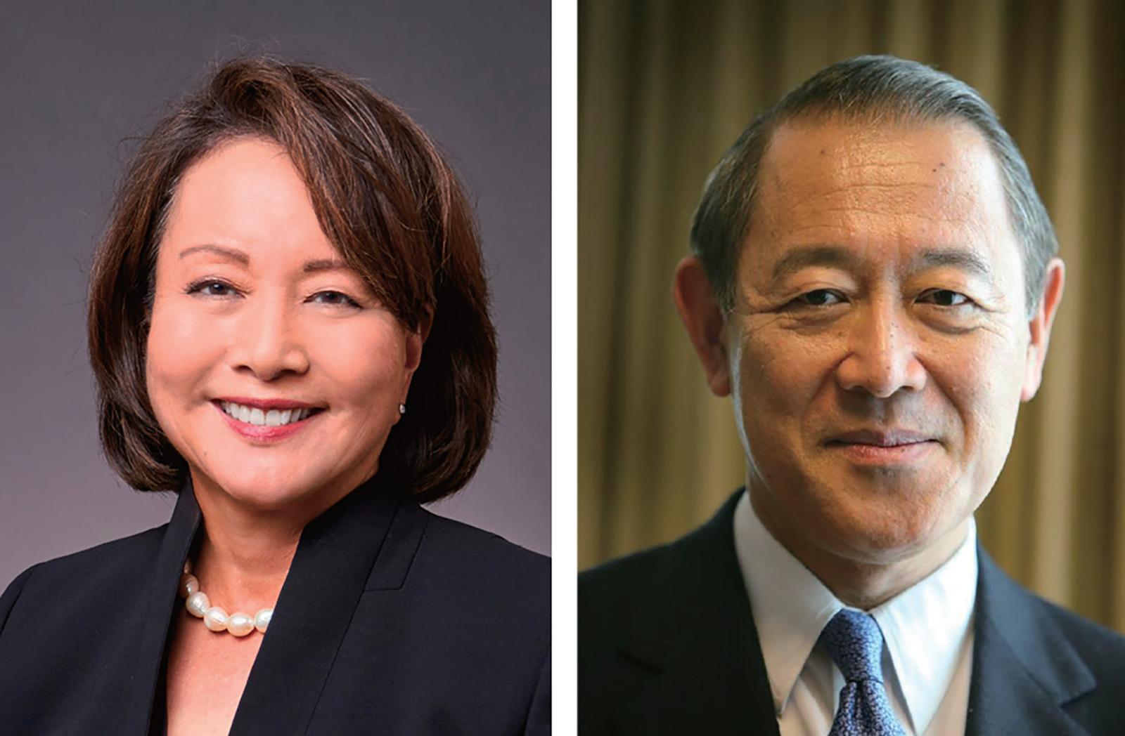 Phyllis J. Campbell and Ichiro Fujisaki.(Courtesy Photos)