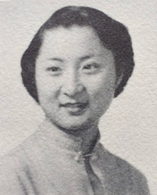 Fumiko in the 1954 Seattle Betsuin Yearbook