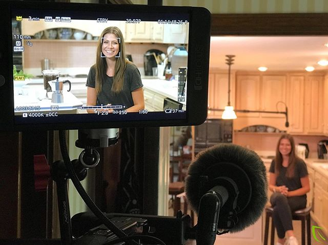 Behind-the-scenes of a product shoot for a Moka coffee pot--shout-out to @coffeamor for providing the coffee! ☕️⠀ #behindthescenes #bts #coffee #moka #productshoot #videoproduction #sellyourproducts #videobranch #smallhd