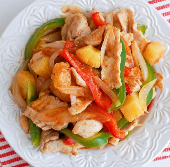 Sweet & Sour Chicken Stir-Fry